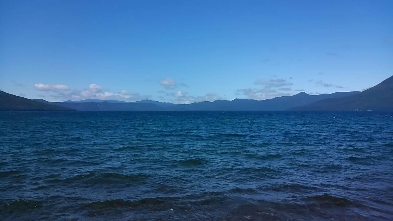 支笏湖に観光して来ました。