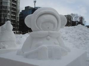 ゆきんこ 雪像