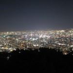 日本新三大夜景である札幌藻岩山の夜景を見に行って来ました。